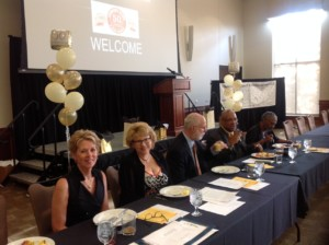 CAGI Board Julie Griffith, Jill Eder, Jack Brummett, Pastor Michael K. Jones and Kamau Jywanza