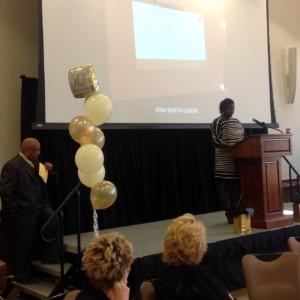 MC and Board Member left, Pastor Michael K. Jones